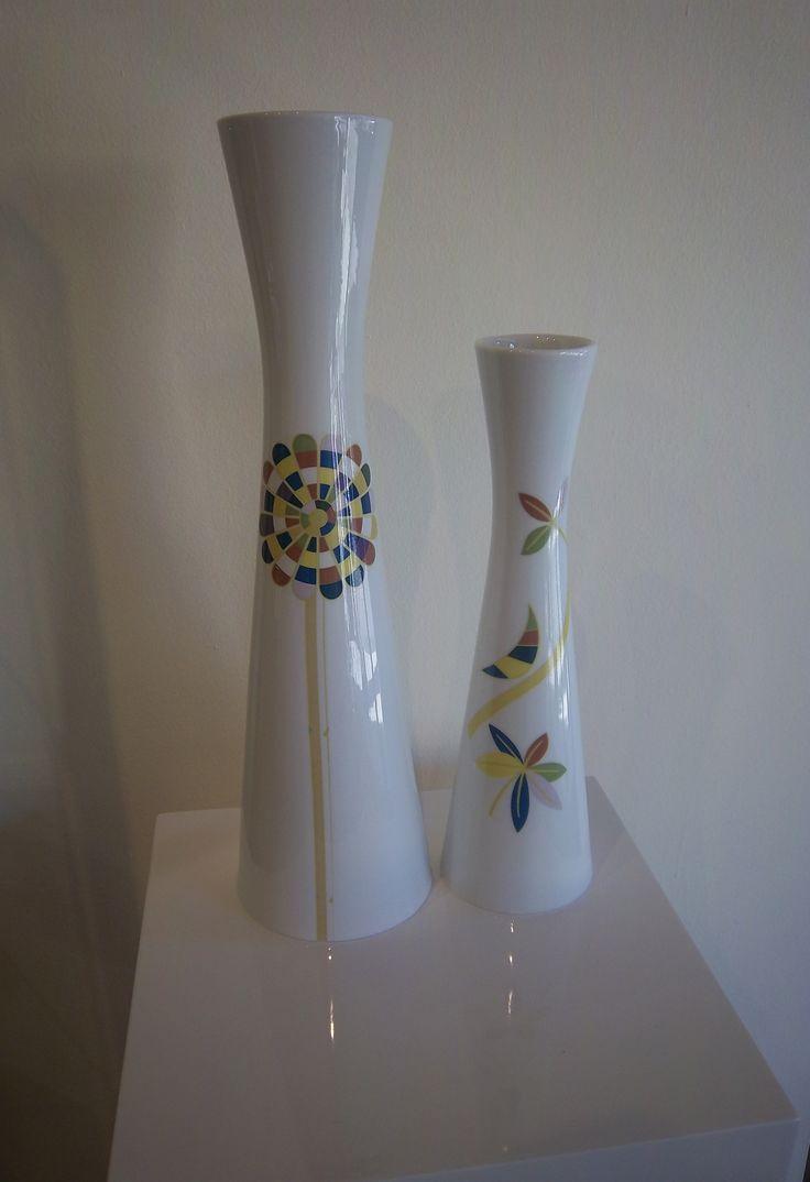 I nuovi vasi CeramIdea, complementi d'arredo unici, originali, con grafica della collezione Design dal Mondo