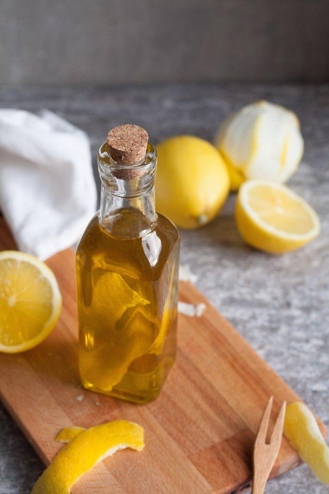 Zitronen-Olivenöl aus zwei Zutaten Grundrezept