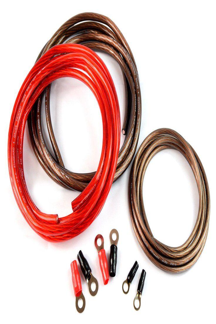 Details About 4 Ga 1000 Watts Heavy Duty Dc To Ac Power Inverter Installation Kit Universal Power Inverters Audiopipe Ac Power
