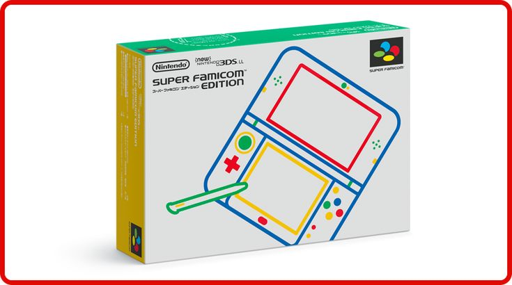 In Japan, Nintendo is going to be launching a Super Famicom Edition color scheme for the New 3DS XL. The boxart has now come in – view it above. This will be available in July. For those that missed the previous Nintendo Direct, here's what the system looks like: Source