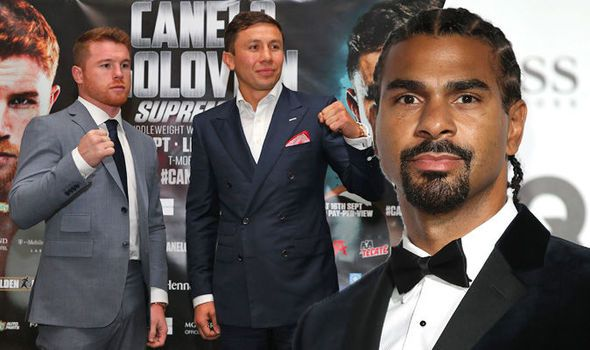 David Haye predicts Canelo vs GGG: Its the biggest REAL fight of the decade!