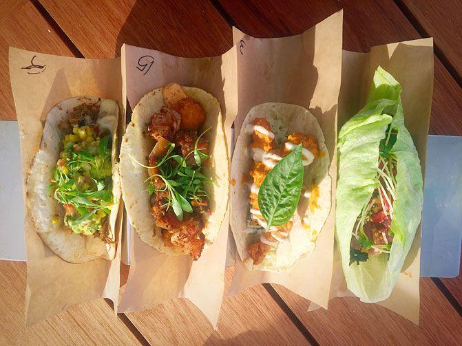 Houston S Buzzy New Restaurant Velvet Taco Creates Long Lines Debate Food Taco Restaurant Houston Restaurants