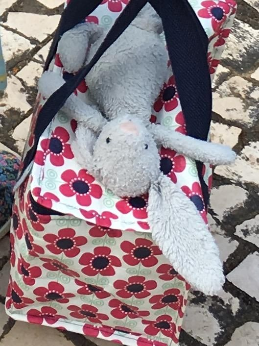 Lost on 04 Jul. 2016 @ Twickenham. FOUND! At Happicraft toy shop hanging out with a few pals ;-) Well worn small grey bunny lost by the riverside or town centre up to Waitrose. Has the remains of my phone number stitched into the tag Visit: https://whiteboomerang.com/lostteddy/msg/hw4n10 (Posted by Adam on 04 Jul. 2016)