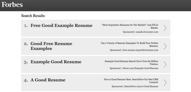 Good resume examples Job Search Interview Advice Pinterest - free resume search