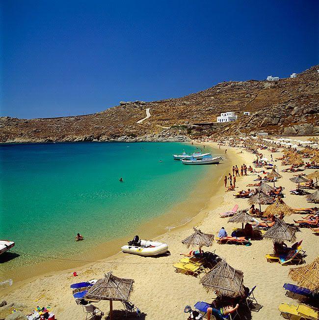 3 Super Paradise beach,Mykonos island