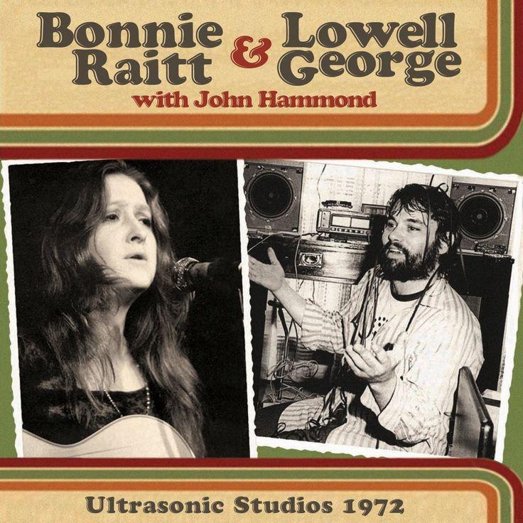 JOHN HAMMOND with BONNIE RAITT & LOWELL GEORGE - Ultrasonic Studios 1972