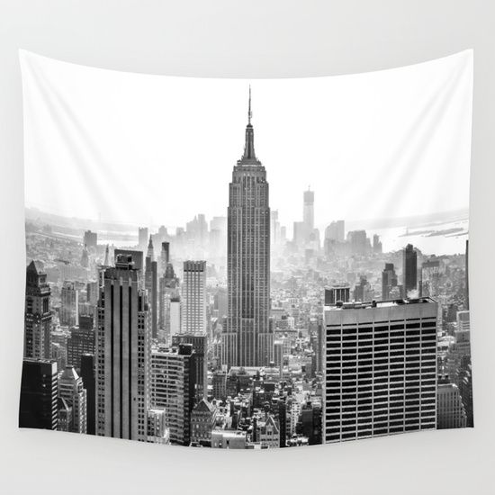 New+York+City+Wall+Tapestry+by+Studio+Laura+Campanella+-+$39.00