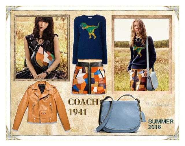 Coach 1941 Summer Collection 2016! by whirlypath on Polyvore featuring Coach