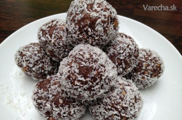 Rumovo-kokosové guľôčky