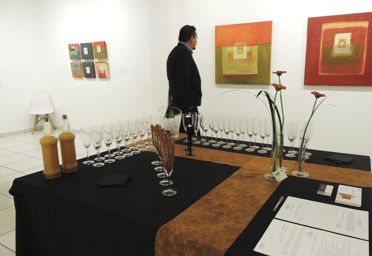"""Inauguración de la exposición """"imatges"""" de Mia Martí"""