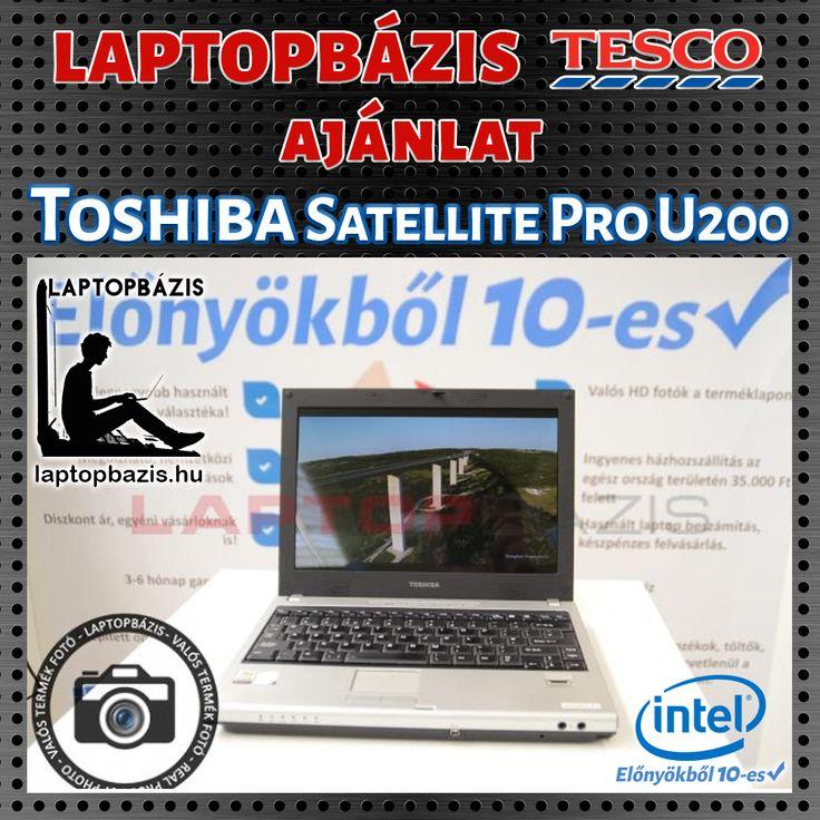 Toshiba Satellite Pro U200 http://laptopbazis.hu/termek/toshiba-satellite-pro-u200-laptop-intel-core-duo-t2300-dvdrw-wifi-bluetooth-121-lcd-kijelzo/461