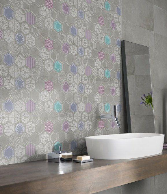 Stoneware wall/floor #tiles URBANATURE by @ceramica creativa tenerife creativa tenerife Panaria