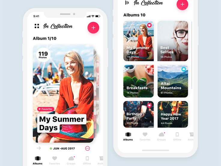 Photo Collections For iPhone X by Dasha Bugrovskaya