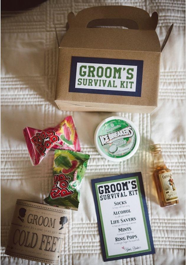 Groom Survival Kit   Bridal Musings Wedding Blog