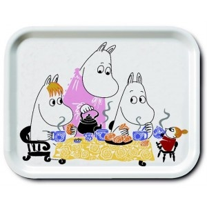 Another tray for even more donuts. This time with Moomins.