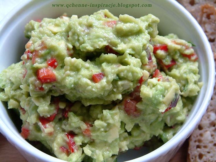Przepis na oryginalne hiszpańskie guacamole ! Zdrowe odżywianie, zdrowa dieta zmiana nawyków żywieniowych