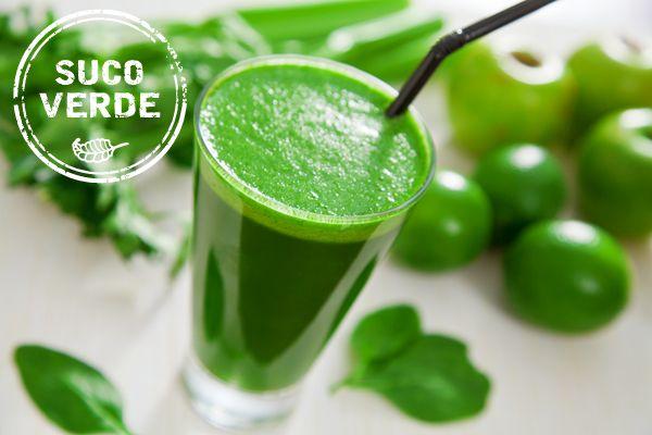 Receita saudável - suco verde detox ( Receita: Dedo de Moça )