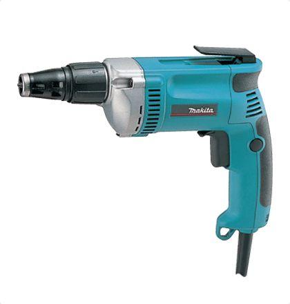 Makita 6826 ScrewDriver Perfect for fastening Teks or Hex screws. For More Details: http://www.mrthomas.in/makita-6826-screwdriver_17