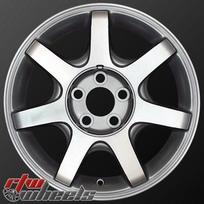 "Mercury Sable wheels for sale 2000-2005. 16"" Machined Silver rims 3360 - http://www.rtwwheels.com/store/?post_type=product&p=32992"