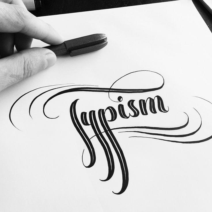 Brush Pen Calligraphy & Lettering: Instagram Sessions on Behance