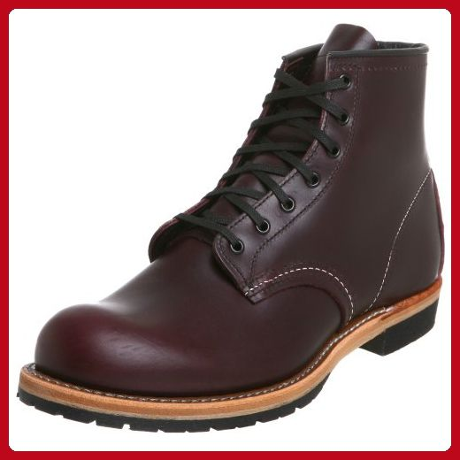 "Red Wing Heritage Beckman Round 6"" Boot, Black Cherry Featherstone,8 D(M) US - Mens world (*Amazon Partner-Link)"