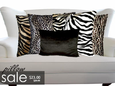 AnythingAnimals Decor N Linens, Animal Print Towels, Rugs, Pillows, Decor and gifts. Lilly s ...