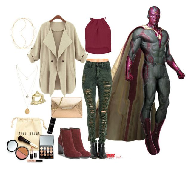 """""""Vision ~ Becky Barnes"""" by team-marvel ❤ liked on Polyvore"""