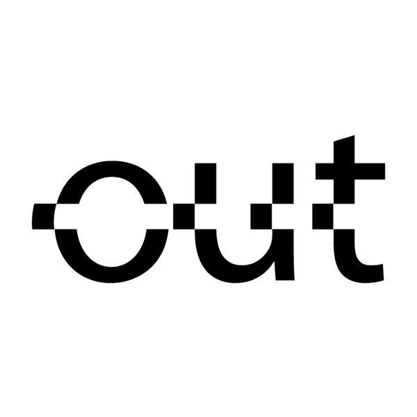 """Simon C Page """"Cut Out"""" logo"""