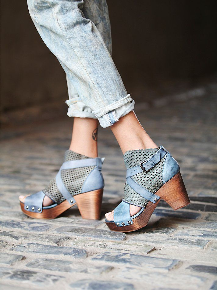 FP Collection Rendering Crochet Clog at Free People Clothing Boutique