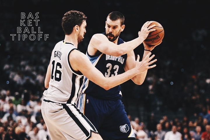 Marc Gasol and his Memphis Grizzlies face Kawhi Leonard and his sizzling San Antonio Spurs. Marc Gasol in his first 8 NBA Seasons had 12 combined THREES. this season he's made 104! Do you see Marc Gasol's new element of range created a difference in tonight's game? Tune in at 9:30pm EST.   -wolfCell