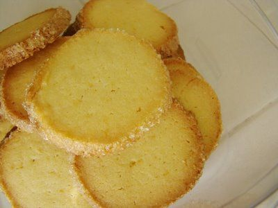 Meyer Lemon Sables -  made them this morning and oh, they are verra nice....