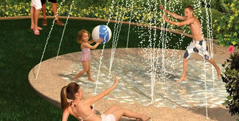 Build your own backyard water park!