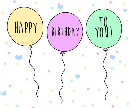 Inflate happy wishes in your greeting & send it to your #birthday pal with this amazing #ecard.  #HappyBirthday