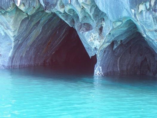 cavernas de marmol en el lago general carrera - Carretera austral, región de Aysén, Chile - Viajeros.com