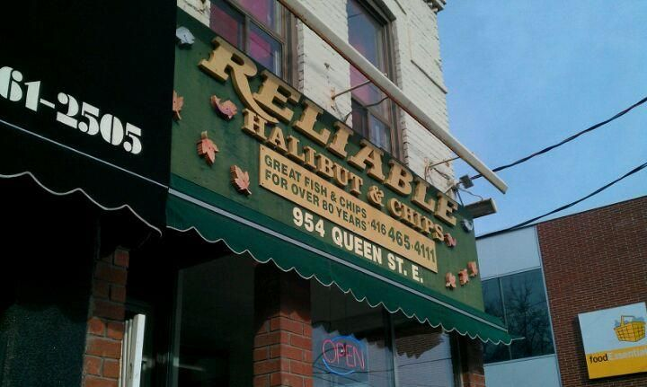 """Probably the oldest Fish & Chips place in Toronto. """"Reliable"""" ...local favorite."""