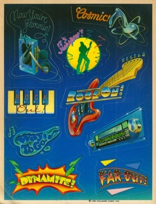 The stickers were better. | 22 Reasons Why Design Was More Awesome In The '80s