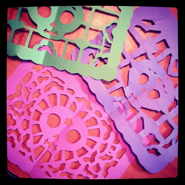Studio Longoria: Construction Paper Papel Picado