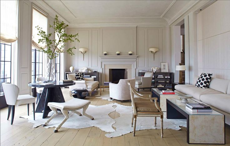 """Recently in the September 2014 House Beautiful magazine article """"Dark and Light,"""" Susan Ferrier, Partner in McAlpine Booth Ferrier, was quoted as saying, """"…we're always less about decorating, more ..."""