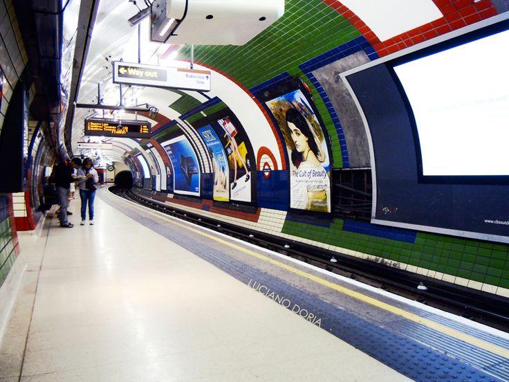 The Tube, London.