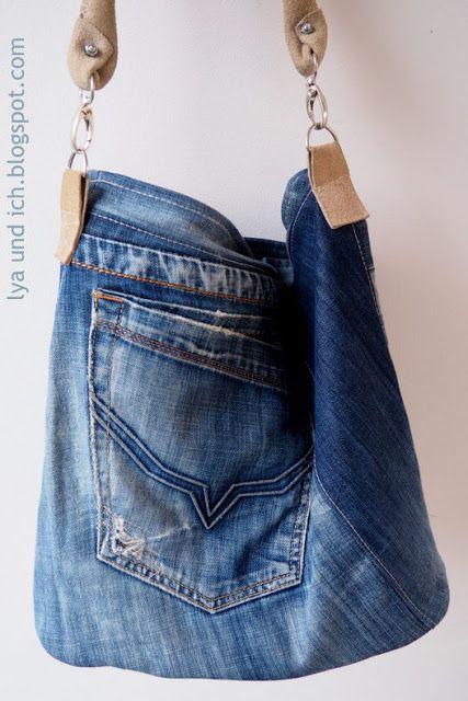 lya und ich jeanstasche chobe n hen pinterest jeans jeans tasche und taschen n hen. Black Bedroom Furniture Sets. Home Design Ideas