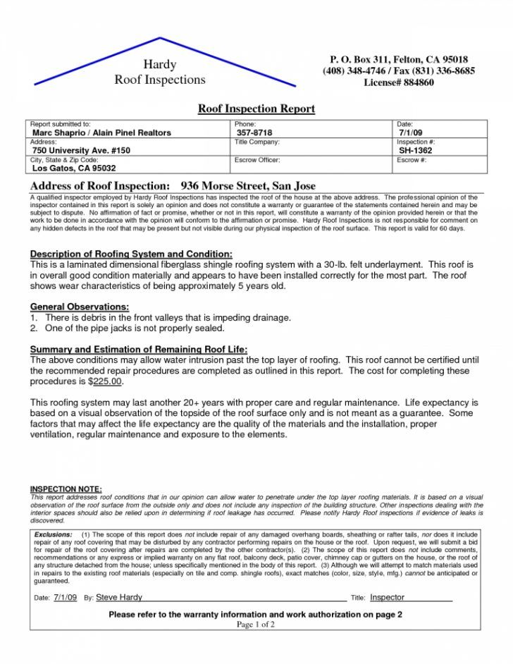Roof Certification Template (9) TEMPLATES EXAMPLE