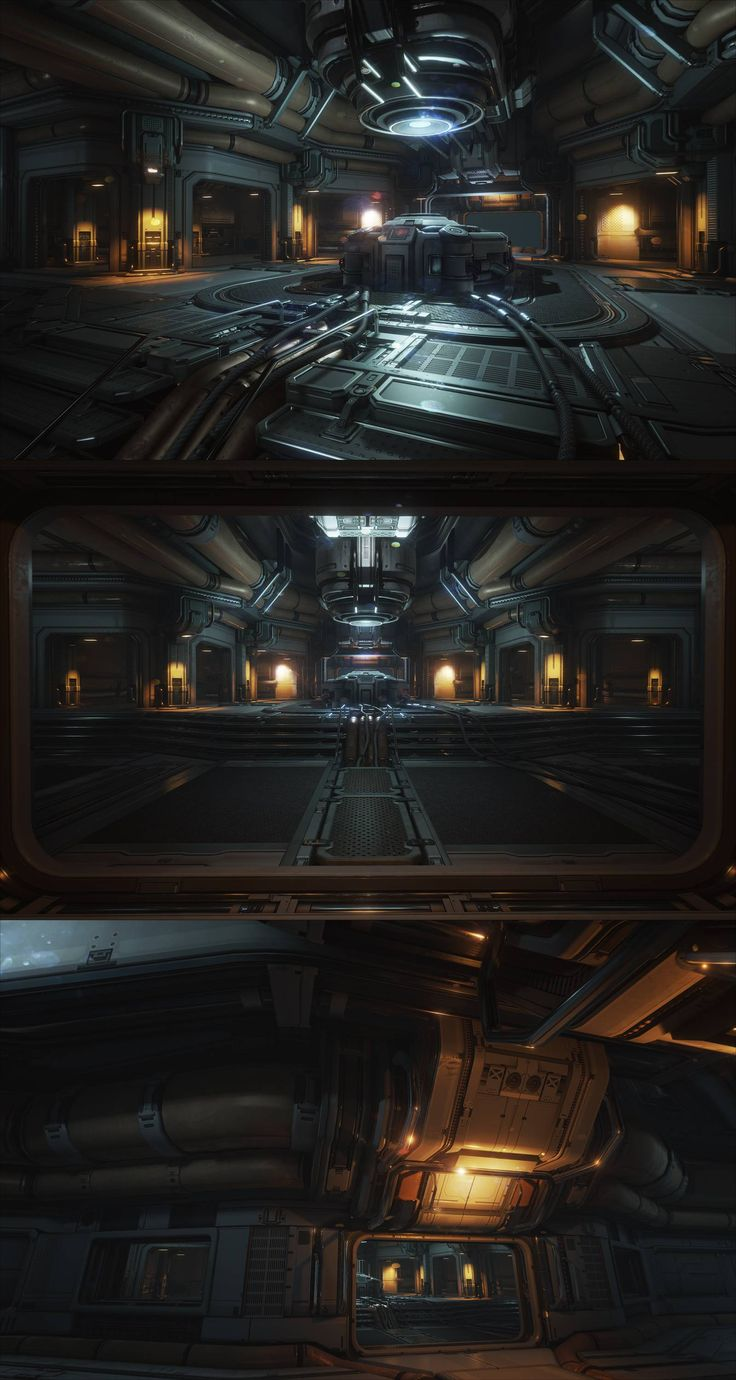 The Engine Room Design: 185 Best Images About Interiors Sci Fi On Pinterest