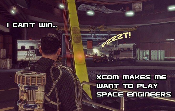 Xcom v Space Engineers