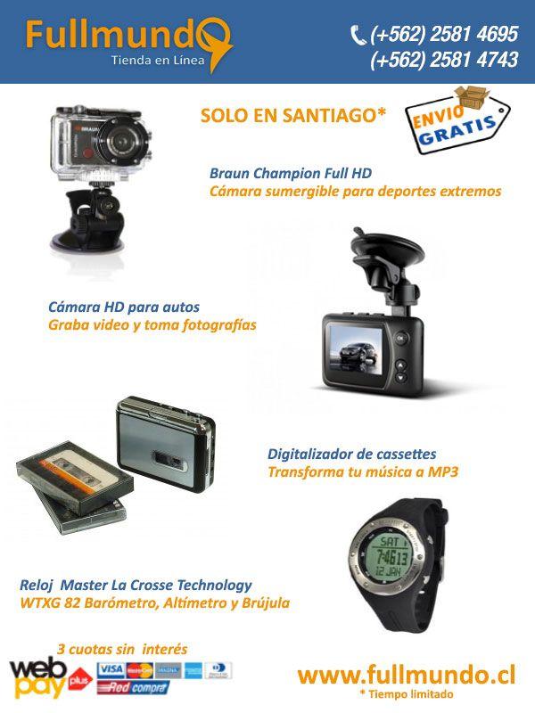 www.fullmundo.cl  todos los productos con garantía en Chile Los stock en Chile Reparto en uno o dos dias