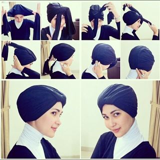 Hijab Turban Simple (Tutorial)