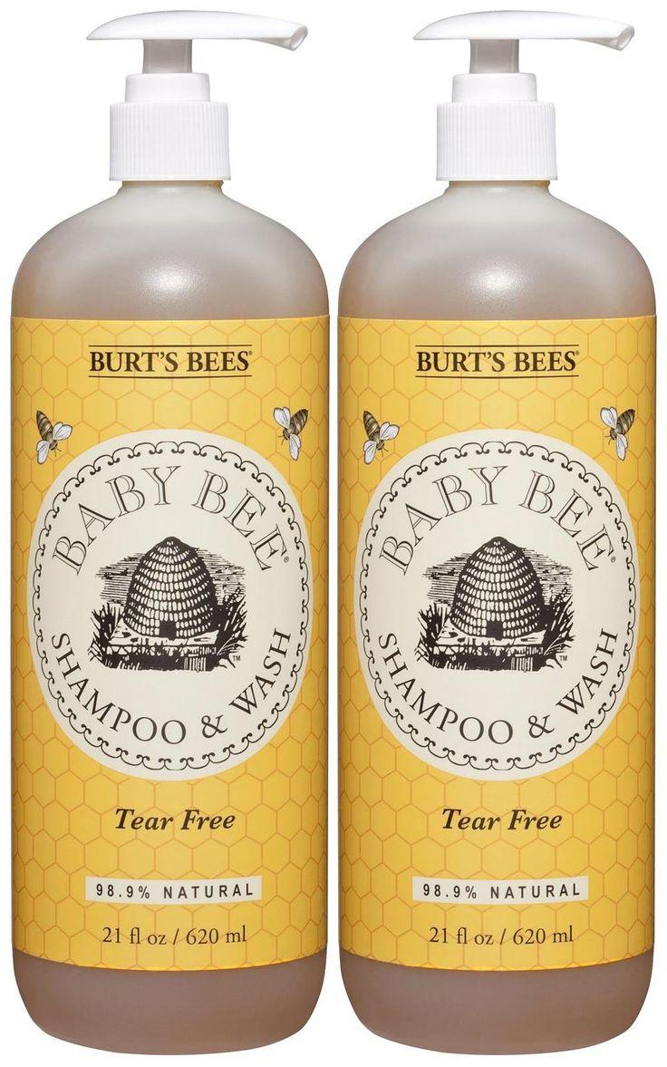 Burt's Bees Baby Bee Shampoo and Body Wash - 21 oz - 2 pk