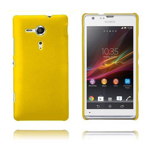 Hard Case (Gul) Sony Xperia SP Case
