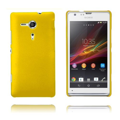 Hard Case (Gul) Sony Xperia SP Case