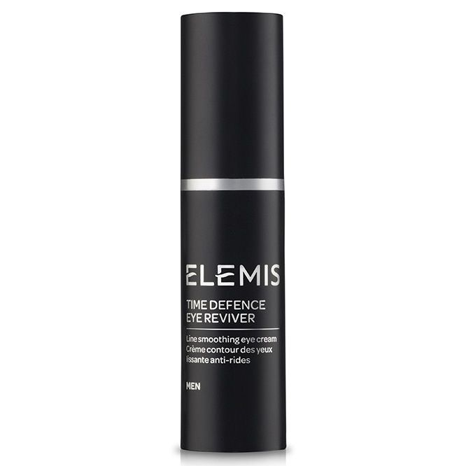Elemis Men Anti-Ageing Time Defence Eye Reviver The skin around mens eyes is much more sensitive than the skin on the rest of their face meaning an eye cream is needed which is effective but does not overload. This lightweight anti-ageing eye cream http://www.MightGet.com/january-2017-11/elemis-men-anti-ageing-time-defence-eye-reviver.asp