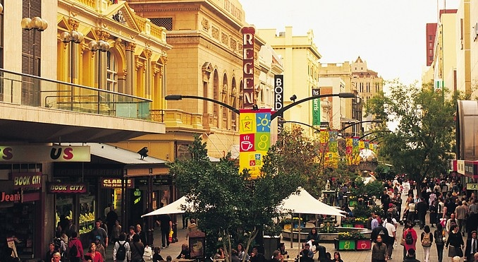 Rundle Street Mall (Closer to street level!)